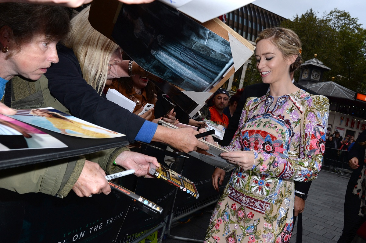 The Girl on the Train World Premiere on the 20th September 2016